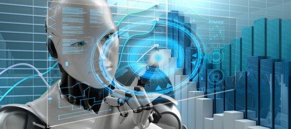 בינה מלאכותית - תמונה של רובוט לאתר