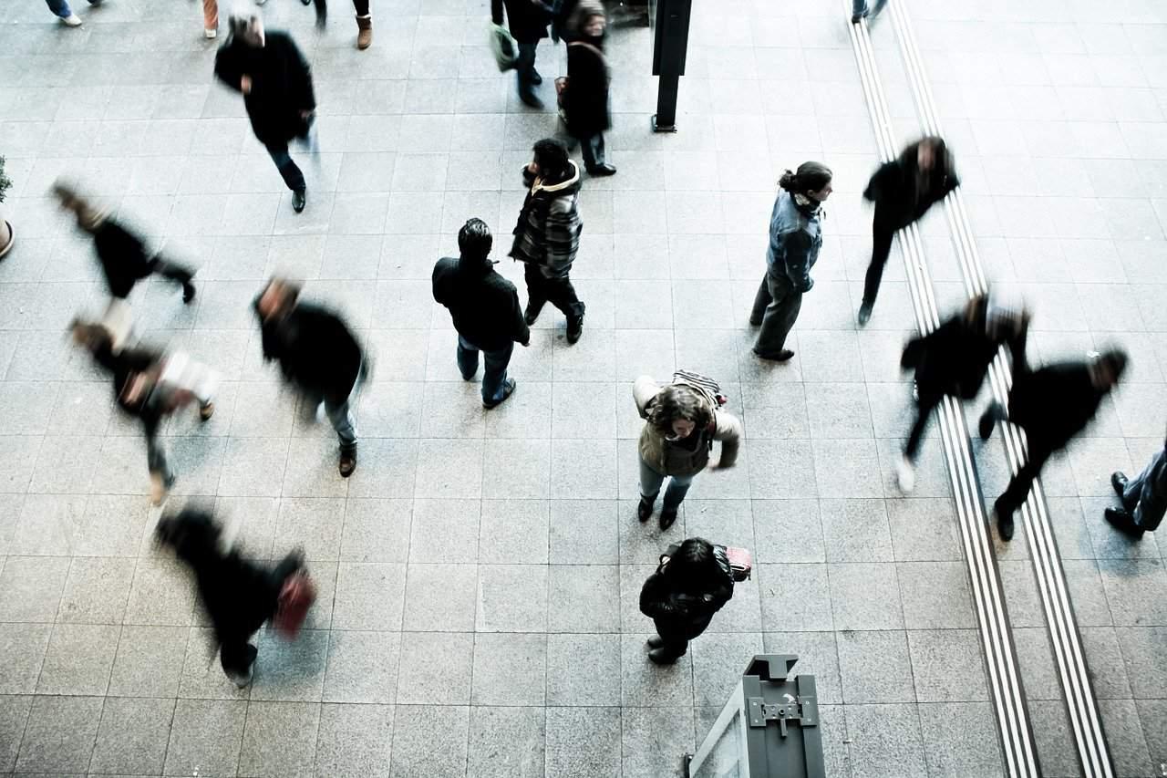 אנשים ברחוב
