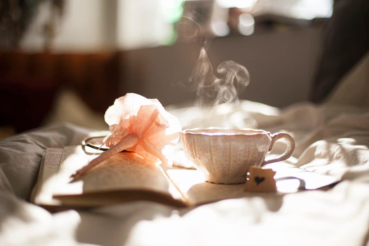 ספל קפה בסוף היום